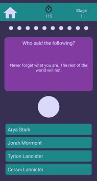 GoT Trivia screenshot 1
