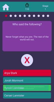 GoT Trivia screenshot 2