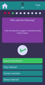 GoT Trivia screenshot 5