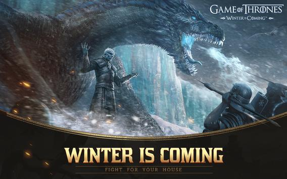 GOT: Winter is Coming M 포스터