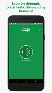 Loop - local audio traffic reports! captura de pantalla 1