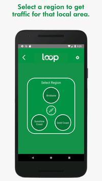 Loop - local audio traffic reports! captura de pantalla 2