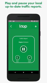 Loop - local audio traffic reports! captura de pantalla 3