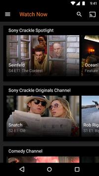 streaming sony crackle apk