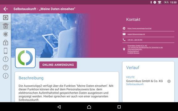 AusweisApp2 Screenshot 16