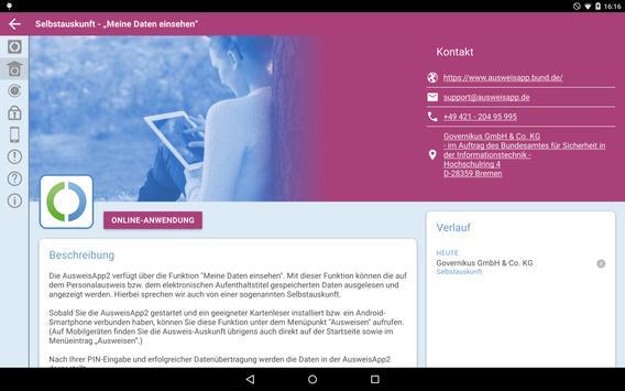 AusweisApp2 Screenshot 10