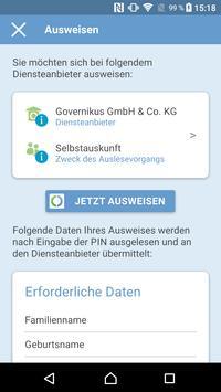 AusweisApp2 Screenshot 1