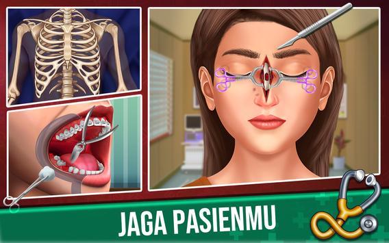 Permainan Dokter Menyenangk- Games Gratis Simulasi screenshot 4