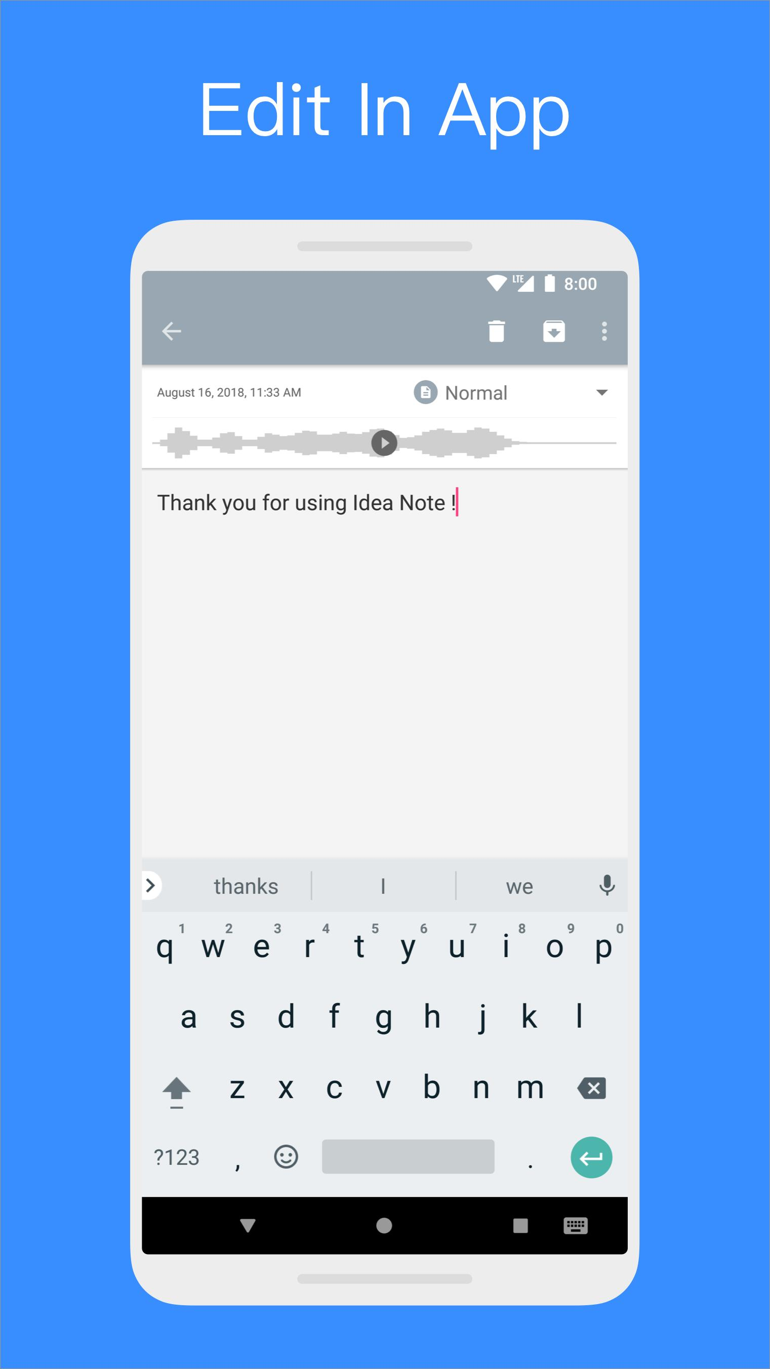 Idea Note for Android - APK Download