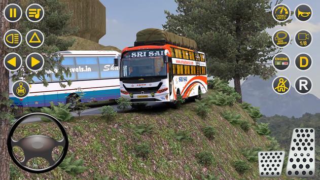 Public Coach Bus Driving Sim : New Bus Games 2020 screenshot 5