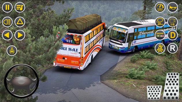 Public Coach Bus Driving Sim : New Bus Games 2020 screenshot 6