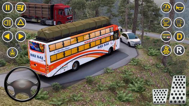 Public Coach Bus Driving Sim : New Bus Games 2020 screenshot 1