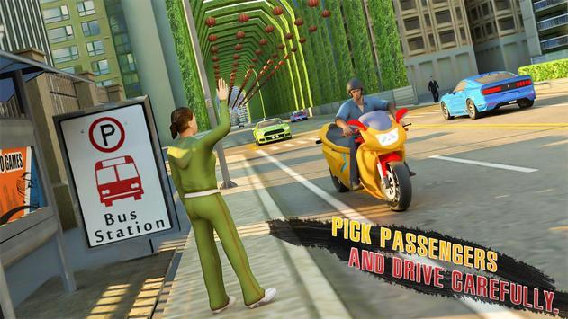 Long Bike Taxi Driver: Passenger Transport screenshot 2