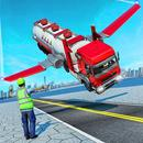 Offroad Oil Tanker Flying Truck Transport Driver APK Android