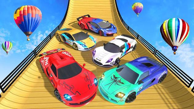 Mega Ramp Car Stunt 3D :  Free Stunt Games 2021 screenshot 9