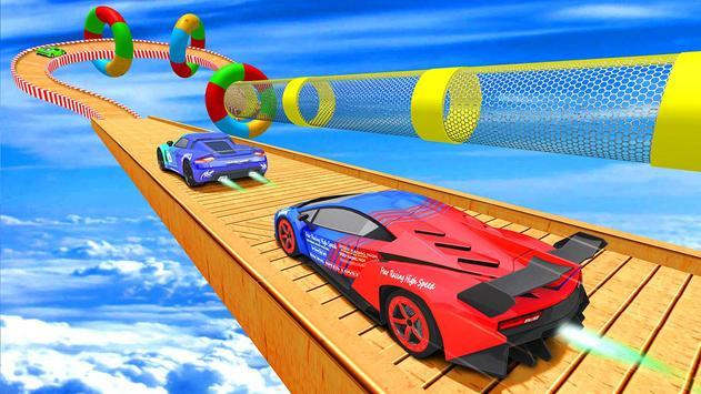 Mega Ramp Car Stunt 3D :  Free Stunt Games 2021 screenshot 10