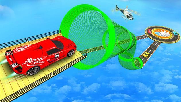 Mega Ramp Car Stunt 3D :  Free Stunt Games 2021 screenshot 1