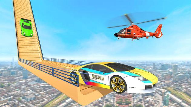 Mega Ramp Car Stunt 3D :  Free Stunt Games 2021 screenshot 2