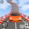 疯狂的汽车特技不可能的汽车轨迹3D 图标