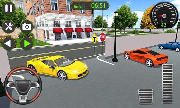 Parking Academy 3D - Extraordinary Driving screenshot 1