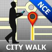 Nice Map and Walks icon