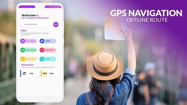 GPS Navigation Offline Route poster