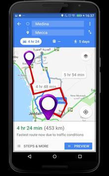 4 Schermata GPS Route Finder e posizione POI Tracker GRATUITO