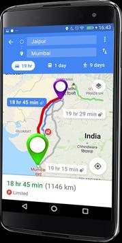 6 Schermata GPS Route Finder e posizione POI Tracker GRATUITO