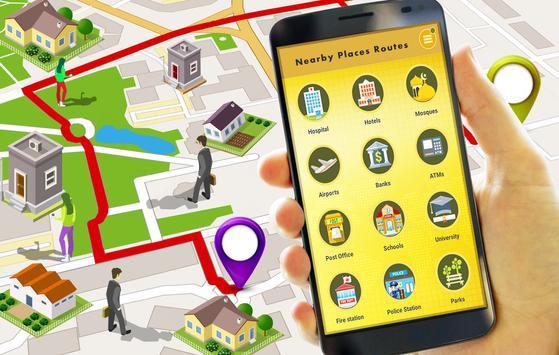 9 Schermata GPS Route Finder e posizione POI Tracker GRATUITO