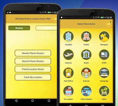 13 Schermata GPS Route Finder e posizione POI Tracker GRATUITO