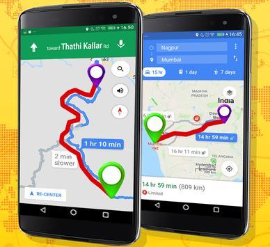 11 Schermata GPS Route Finder e posizione POI Tracker GRATUITO