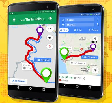 19 Schermata GPS Route Finder e posizione POI Tracker GRATUITO
