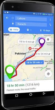 23 Schermata GPS Route Finder e posizione POI Tracker GRATUITO