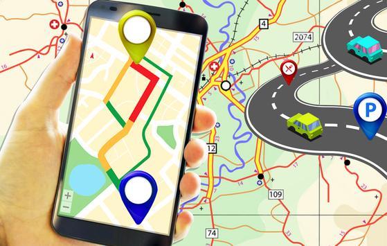 2 Schermata GPS Route Finder e posizione POI Tracker GRATUITO