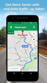 Maps GPS Navigation Route Directions Location Live screenshot 1