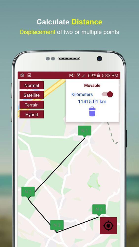 Gps Area Calculator with Level Meter for Android - APK Download