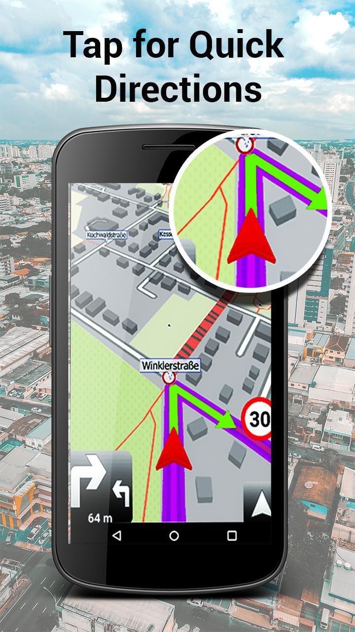 Nawigacja Bez Internetu Za Darmo Po Polsku Mapa Pl For Android