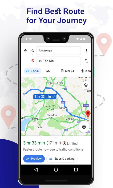gps map for android Gps Map Navigation Traffic Finder App For Android Apk Download gps map for android