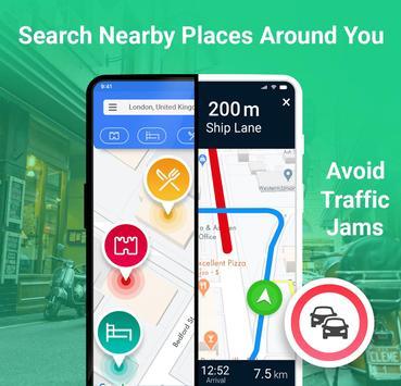 GPS طريق مخطط - طريق تعقب تطبيق تصوير الشاشة 10