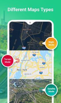 GPS طريق مخطط - طريق تعقب تطبيق تصوير الشاشة 11