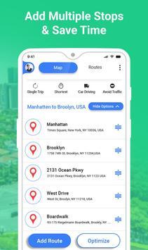 GPS طريق مخطط - طريق تعقب تطبيق تصوير الشاشة 1