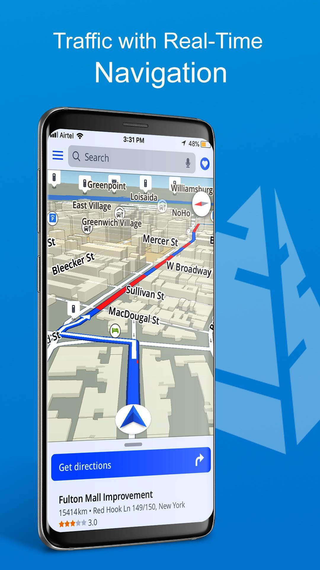 GPS, Maps, Directions, Traffic, Comp Navigation for ... on google maps traffic, road map with traffic, maps and traffic,