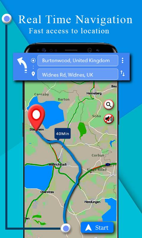 navigation map download for android Voice Gps Driving Route Gps Navigation Maps Free For Android navigation map download for android