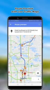 Navigation Maps; GPS Route Finder, World Map 2019 screenshot 2