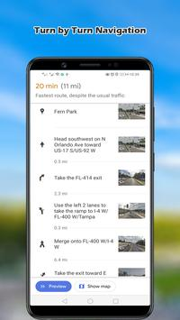 Navigation Maps; GPS Route Finder, World Map 2019 screenshot 4