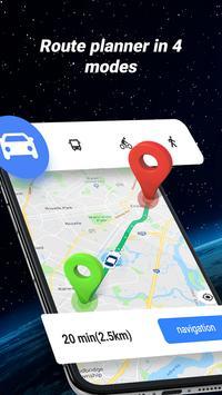 GPS Navigator - mapa, gps gratis español captura de pantalla 1