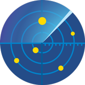 GPS fix : GPS Test, Compass App & Satellites Radar icon
