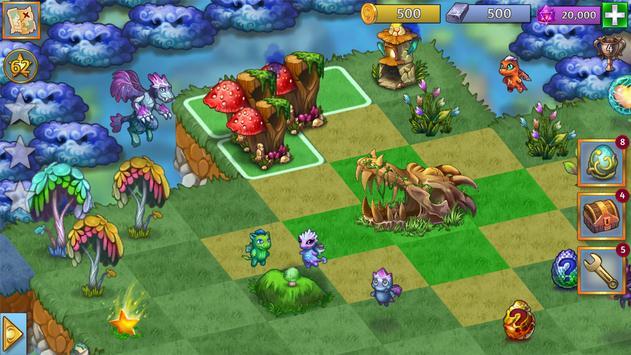 4 Schermata Merge Dragons!