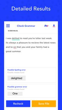 Grammar Checker, Check Spell & Sentence Correction Screenshot 1