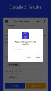 Grammar Checker, Check Spell & Sentence Correction Screenshot 3